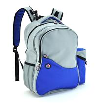 Aiden Diaper Backpack (Blue/Grey)